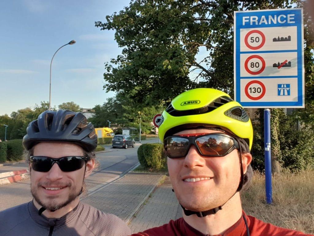 Frankreich Grenze