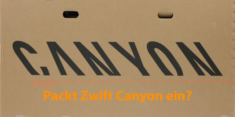 Zwift Canyon Verkauf Übernahme