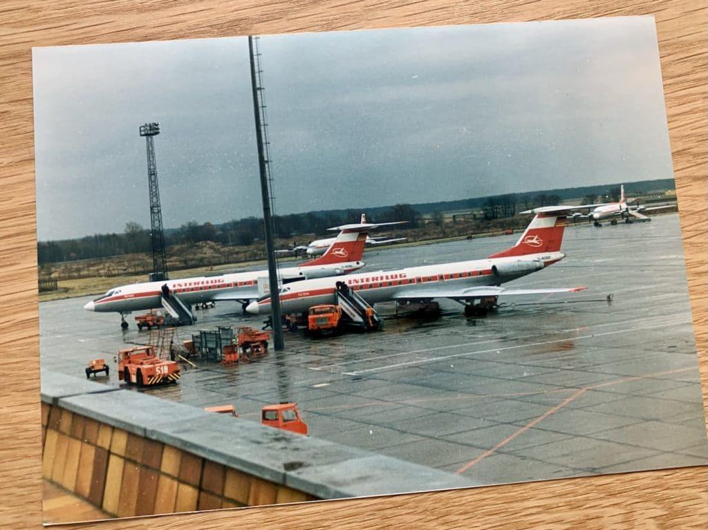 Interflug Honecker Maschine