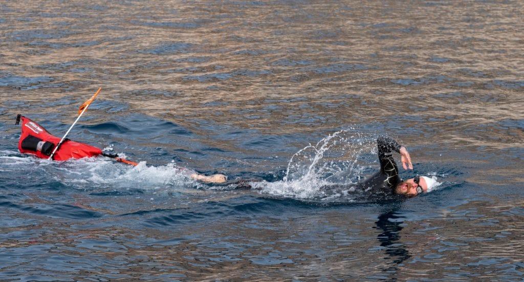 Jonas Deichmann Schwimmen Dubrovnik
