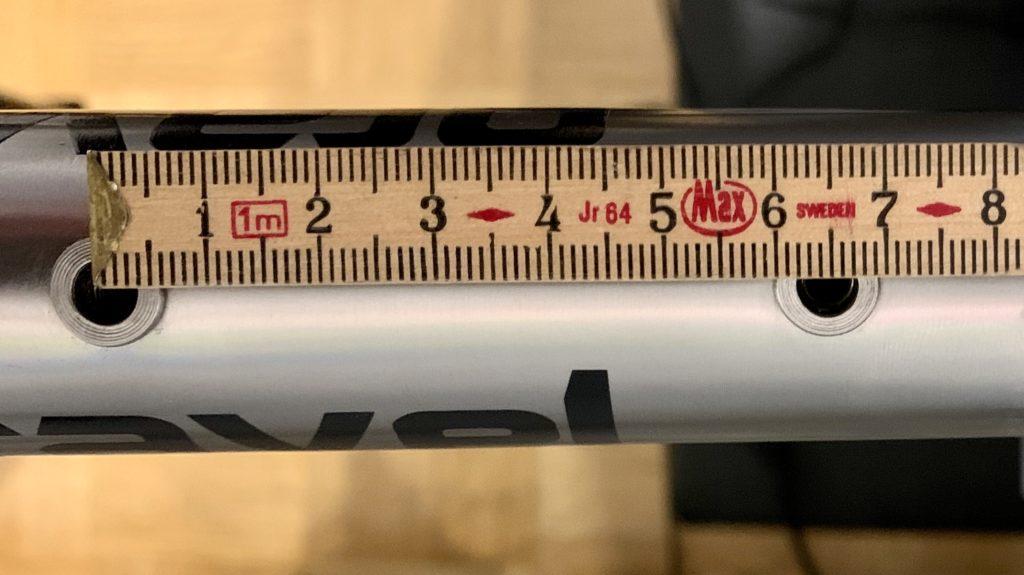 Abstand Ösen Flaschenhalter Fahrrad