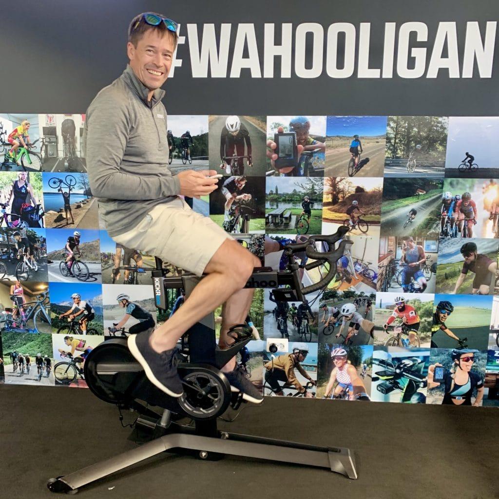 Chip Hawkins, CEO Wahoo