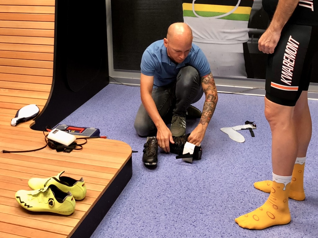 Sensoren im Schuh