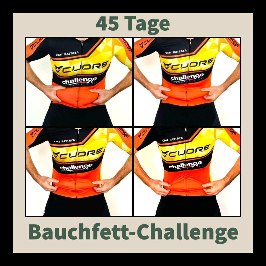 Bauchfett-Challenge Bauchfett abnehmen gezielt