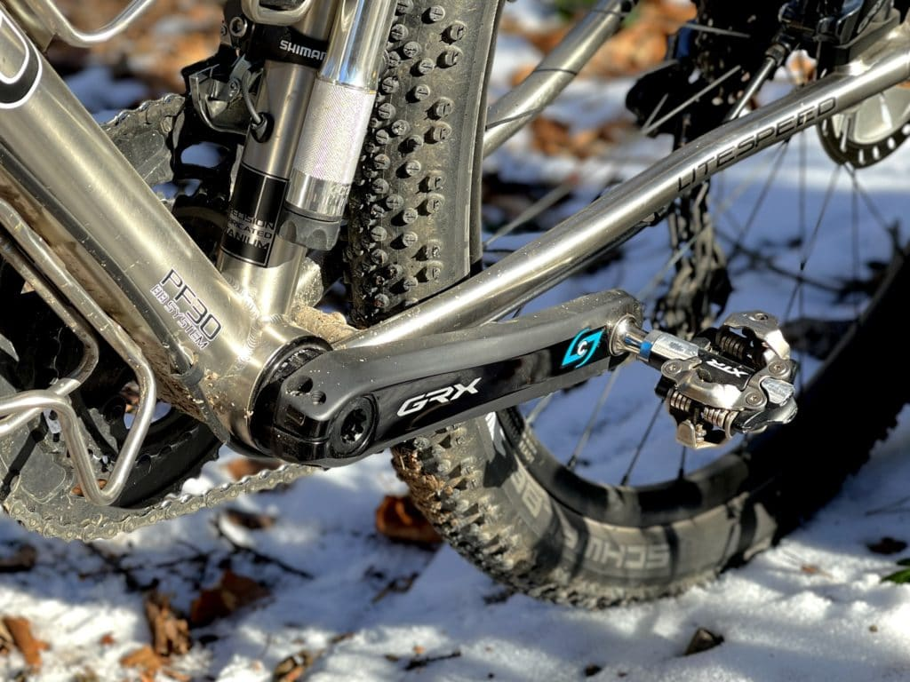 Shimano XTR Pedale und Stages GRX