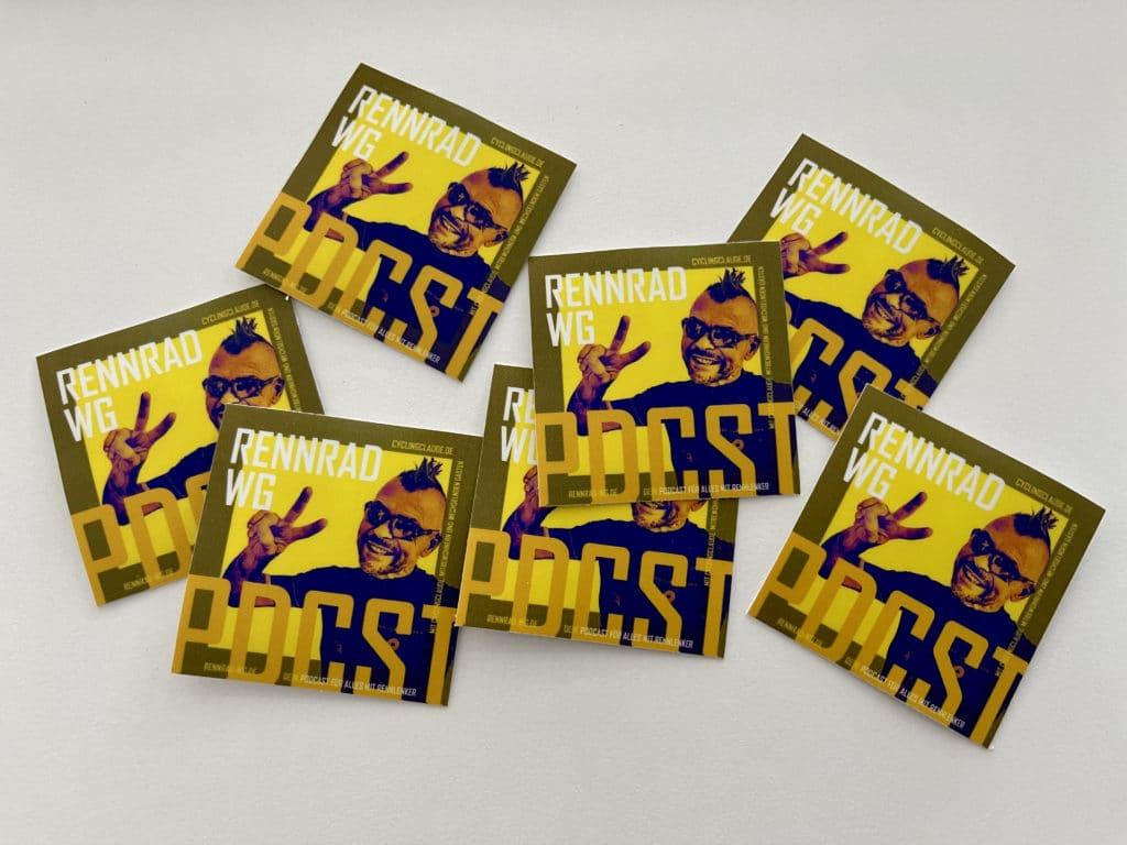 Rennrad-WG Sticker