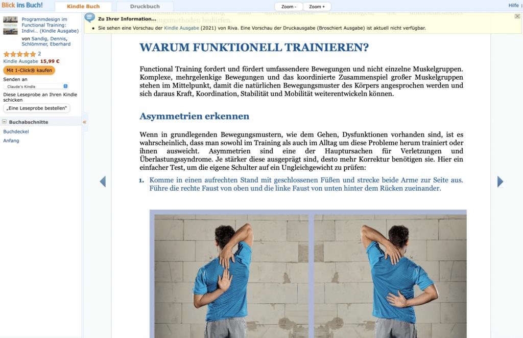 Programmdesign im Functional Training Buch Dennis Sandig Eberhard Schlömmer Riva Verlag