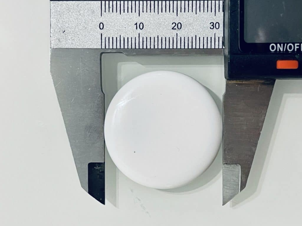 Durchmesser Apple AirTag