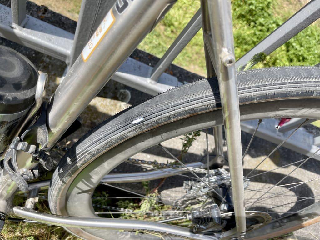 Durchschlag Gravel-Reifen