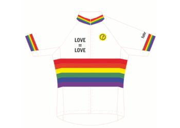 Regenbogentrikot Love is Love Fahrstil magazin