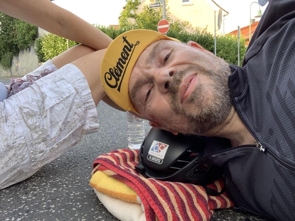 Fahrradunfall Wirbelbruch