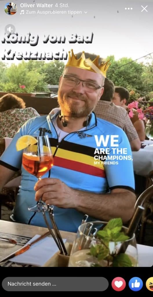 CyclingOlli Oliver Walter Stadtradeln Bad Kreuznach 2021