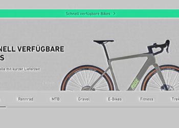 Rose Bikes sofort verfügbar
